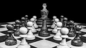 Bilde av sjakkbrett
