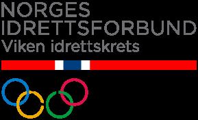 logo Norges Idrettsforbund - Viken Idrettskrets